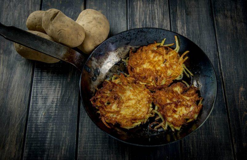 Kartoffelpuffer aus frischen Kartoffeln