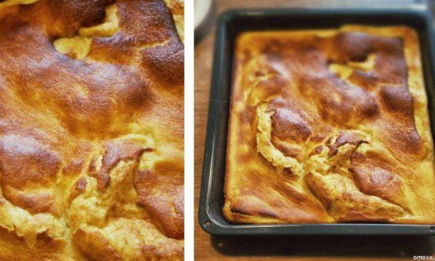 Pfannkuchen vom Blech – weil's einfach schneller geht