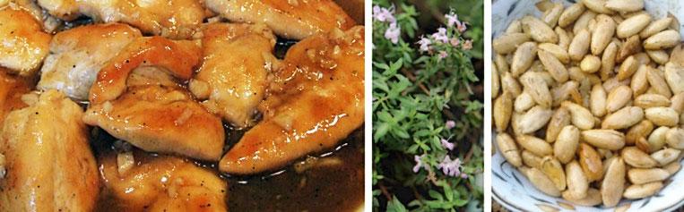 huhn sherry - Mejadra - arabischer Linsenreis