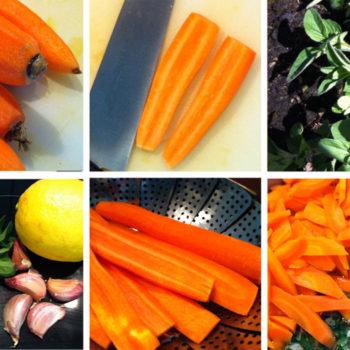 karottensalat 350x350 - Bunter Frühlings Salat