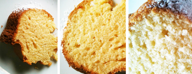 Zitronenkuchen mit Schmand