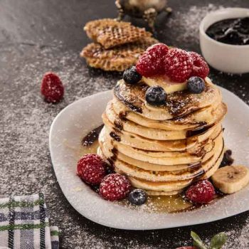 amarican pancakes 350x350 - Pfannkuchenteig Grundrezept