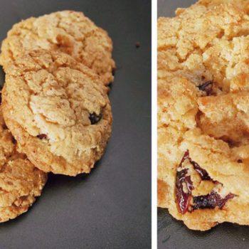 cookies11 350x350 - Granola mit Mandeln und Kokos