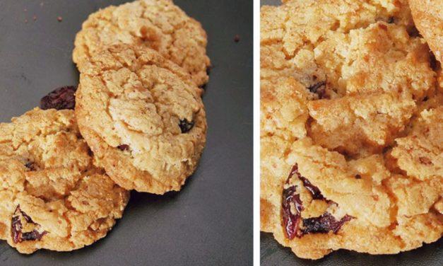 White Chocolate – Cranberries – Cookies