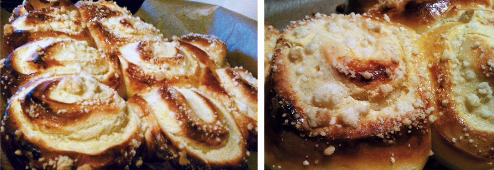 kaesekuchen schnecken - Herbstlicher Hefekuchen mit Mohnbutter