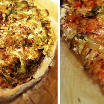 Zwiebelkuchen vegitarisch