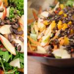 bunter fruehlings salat