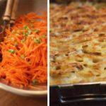 Kartoffelgratin mit Birnen