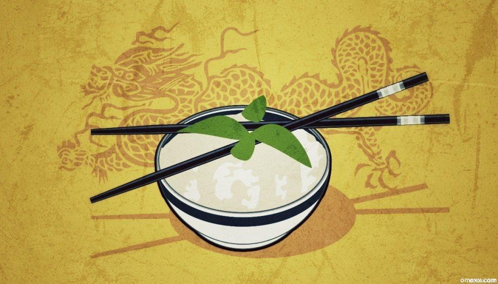 Asiatische Reispfanne (Grafik: Thomas Vonier)