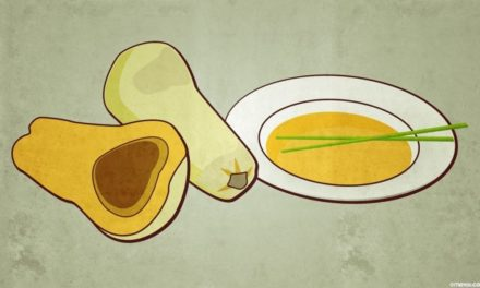 Kürbis Süßkartoffel Suppe mit Kokosmilch