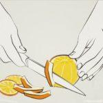 orange filetieren - schälen