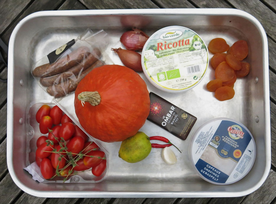 warenkorb Snapseed - Resteverwertung - #antifoodwastchallenge