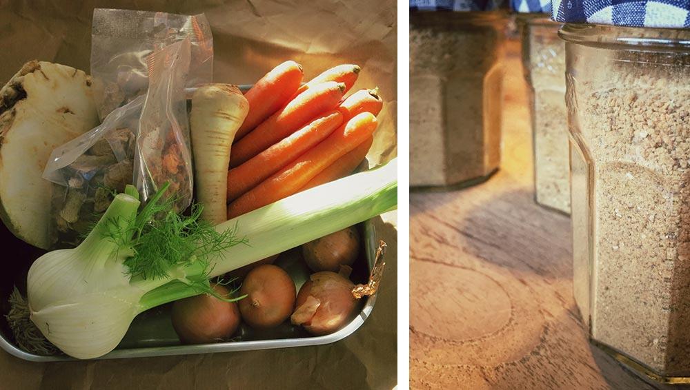 Gemüsebrühe selber machen