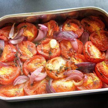 tomatensuppe aus gegrillten tomate 02 350x350 - Grüne Tomaten Suppe mit Basilikum-Schaum