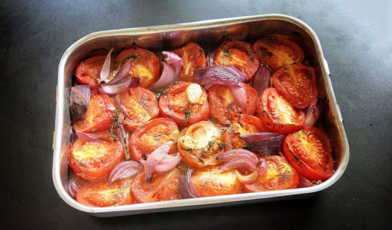 tomatensuppe aus gegrillten tomate 02 802x471 - Gegrillte Tomatensuppe