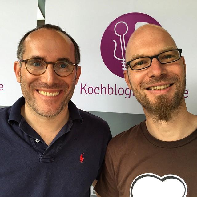 Mit Tim von kochblogradio in Puchheim zu Besuch bei Martinhellip