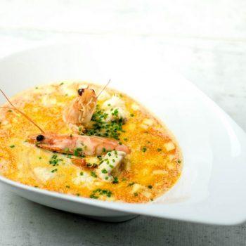 Seeteufel Fischsuppe