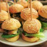 mini burger 150x150 - Mini Burger mit Radicchio, Scamorza und Mango-Chutney