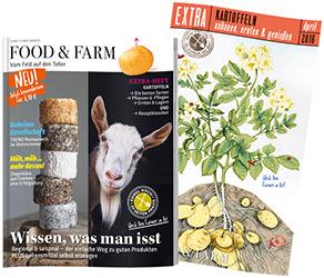 Food and Farm Hefte - Focaccia mit Spargel und getrockente Tomaten