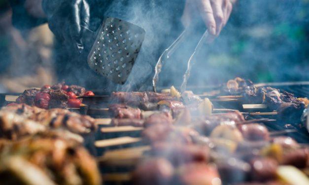 Rinderspieße vom Grill