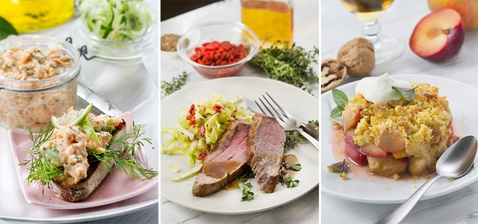 food life gerichte - omoxx auf der Food & Life