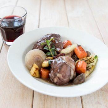 Coq au vin – Der Hahn im Wein