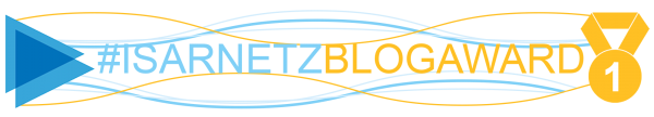 Platz 1 Isarnetz Blog Award