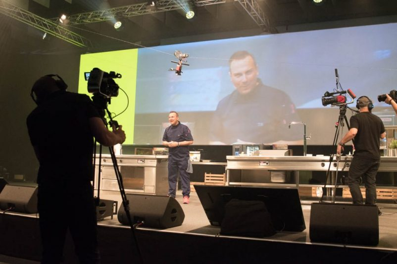 Chefdays Speaker auf Bühne