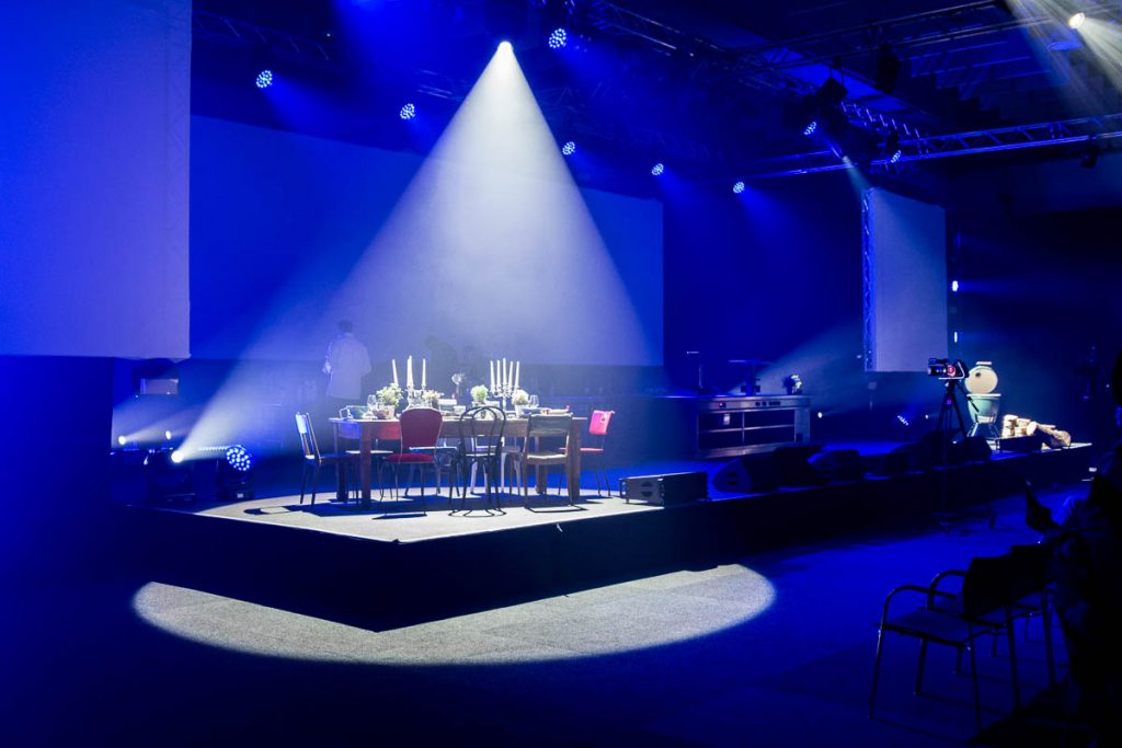 Chefdays Bühne