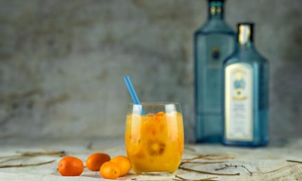 Bombay Crushed – frischer Gin Cocktail mit bitterem Orangentouch