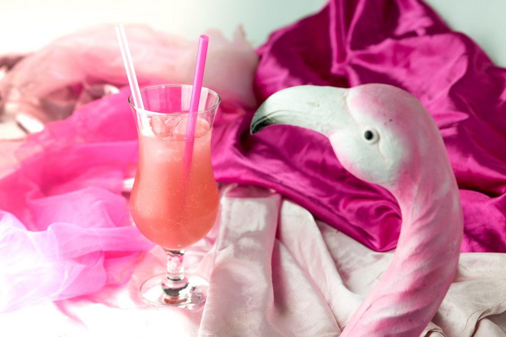Pink Flamingo Floyd - Pink Flamingo Floyd  – trendiger Gin Cocktail, nicht nur für Mädchen
