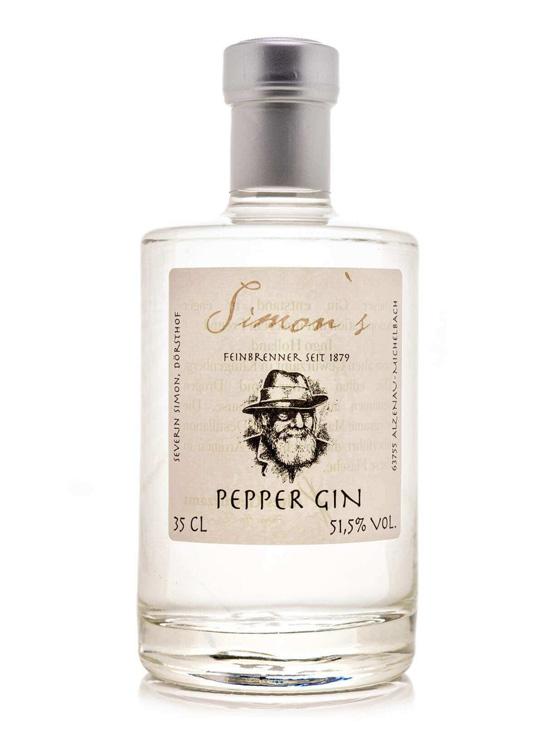 gin bayern 0006 Simons Pfeffer Gin - Simon's PEPPER GIN