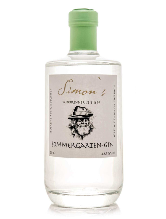 gin bayern 0011 Simon´s Bavarian - Simon's SOMMERGARTEN-GIN