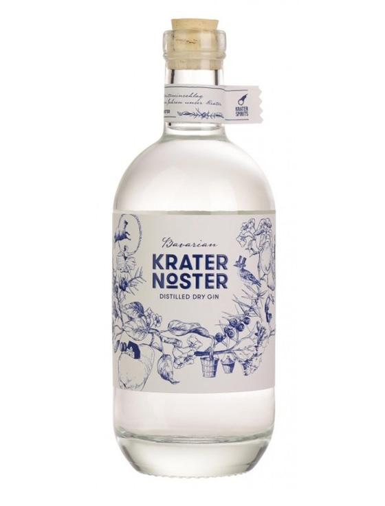 gin bayern 0016 Krater Nosta - Bavarian KRATER NOSTER Distilled Dry Gin