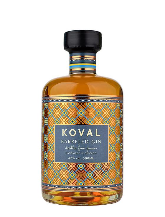 koval barreled gin - KOVAL Barreled Gin