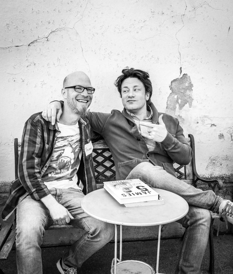 Ich treffe Jamie Oliver in München