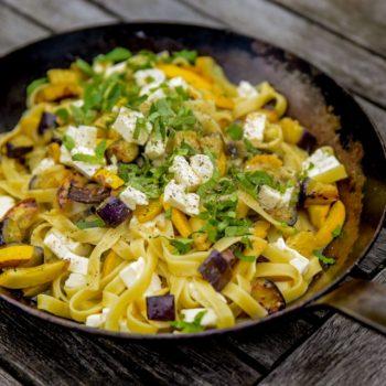 zucchini auberginen pasta 350x350 - Spinat Avocado Tortilla