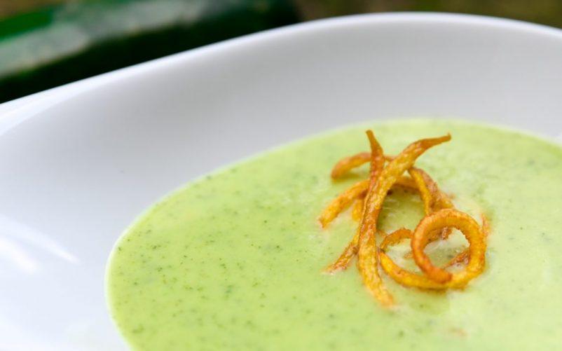 zucchini suppe 2 802x501 - Zucchinisuppe