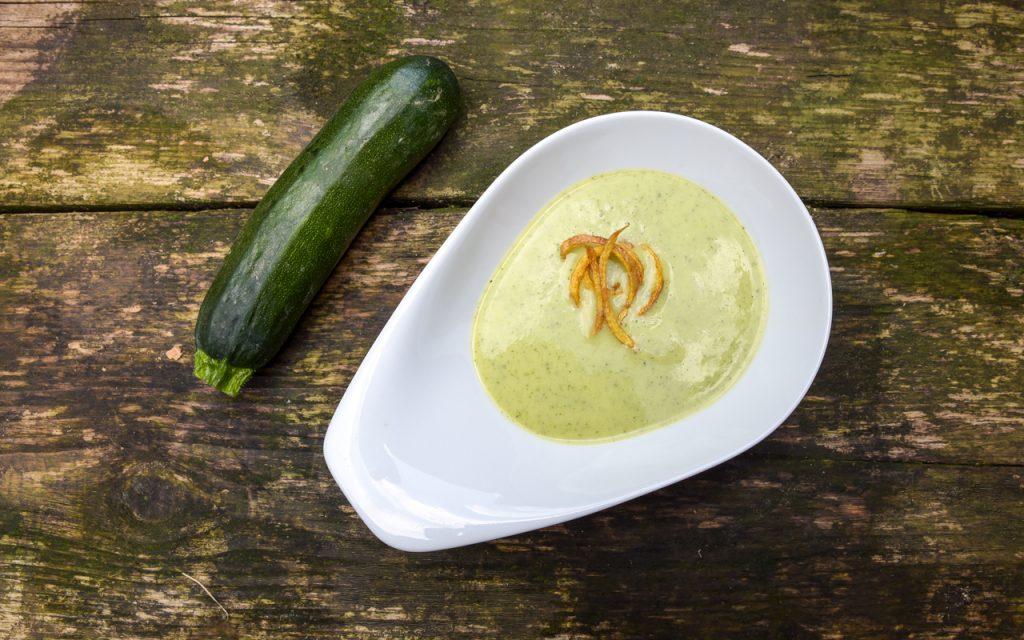 zucchini suppe 4 - Zucchinisuppe