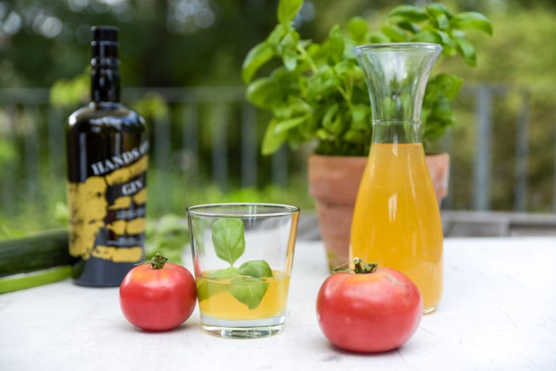 klare tomaten gazpacho 4 802x535 - Klare Gazpacho mit Gin