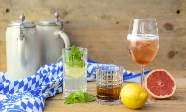 3x Gin-Cocktails für die fünfte Jahreszeit