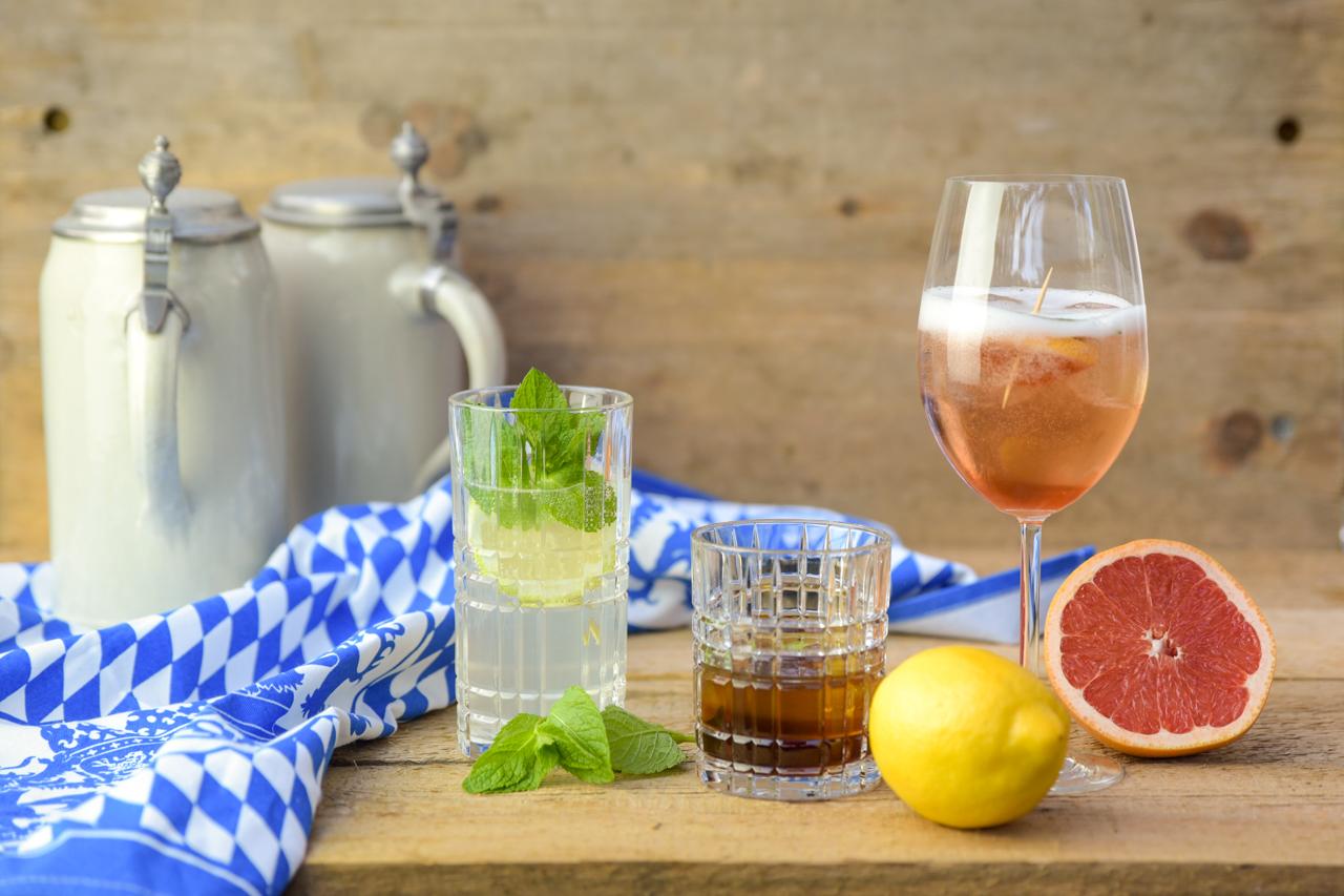 oktoberfest special 11 - 3x Gin-Cocktails für die fünfte Jahreszeit