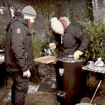wintergrillen 350x350 - Rinderspieße vom Grill