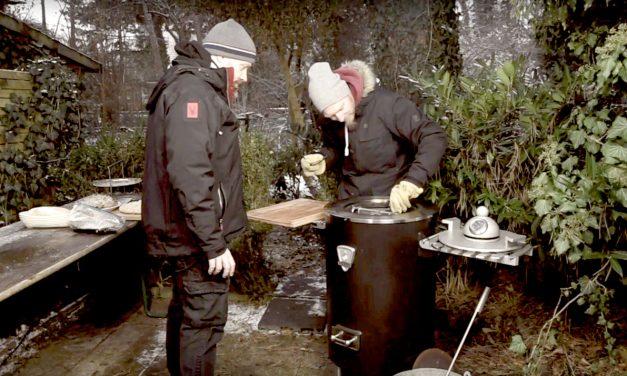 Wintergrillen mit dem Plett Grill