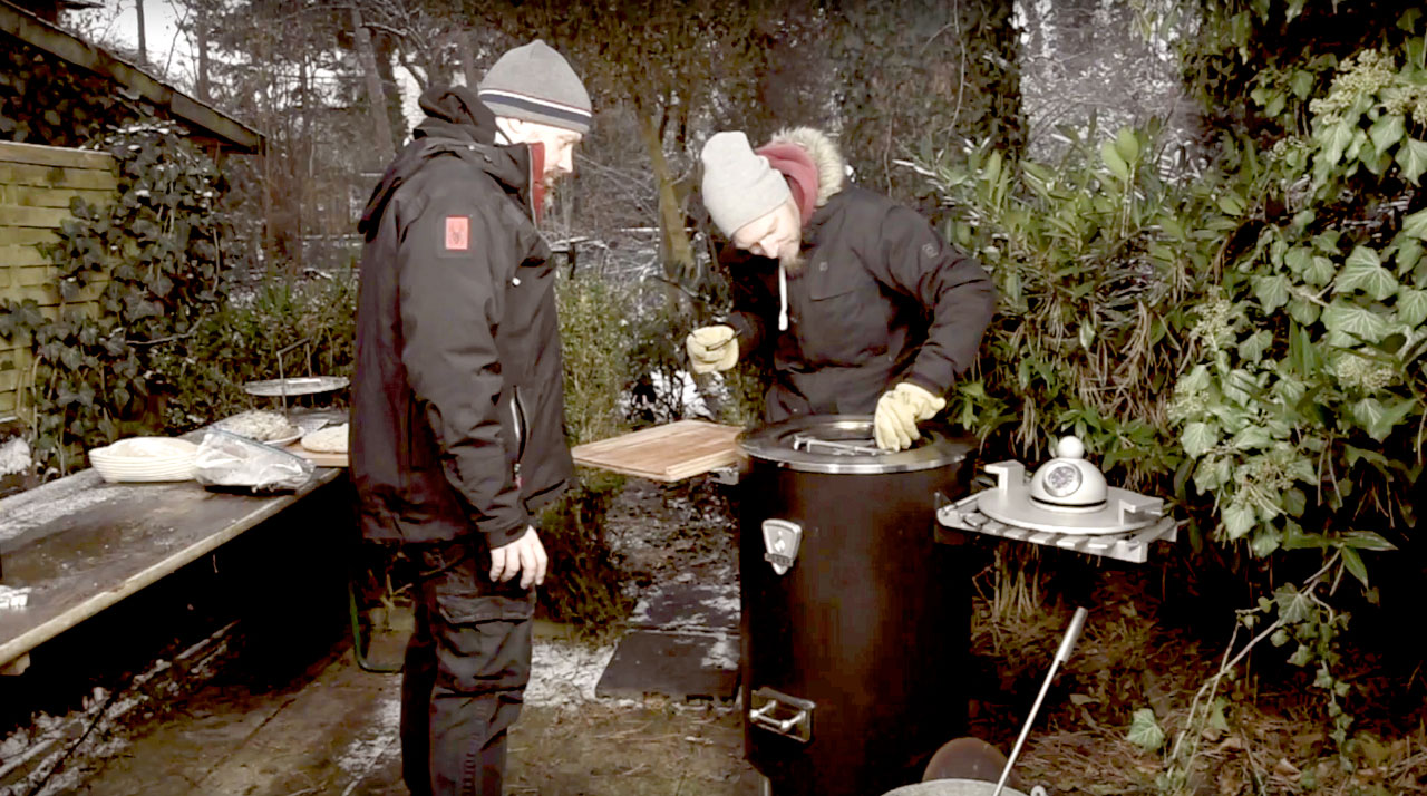 wintergrillen - Wintergrillen mit dem Plett Grill