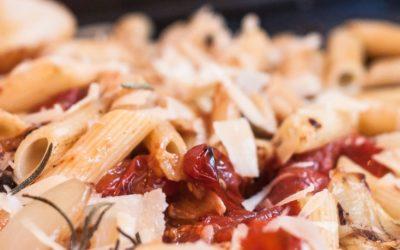 pasta ofentomaten vegetarisch 400x250 - Koch Tipps für einfache Rezeptideen