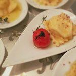 Birnen Ravioli